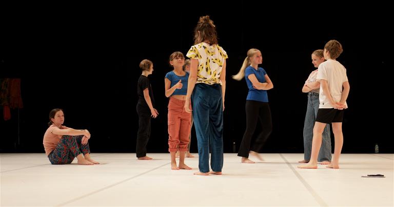 Working with Children 1 c Ben Speck 2020